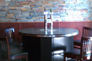 Ellickson beer dispensing pub table and beer towers