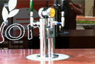 Outdoor Bar Table Beer Tap