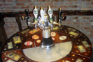 Stylized Beer Dispensing Pub Table
