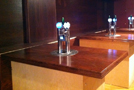 Draft Beer Bar Table Taps and Tower
